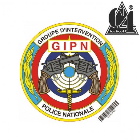 Autocollant Rond 8cm - GIPN