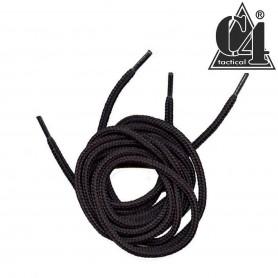 Lacet Militaire 100% nylon 160cm Noir
