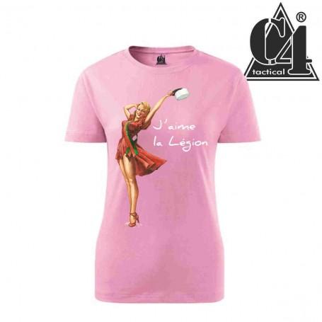 T-shirt Miss Képi Blanc